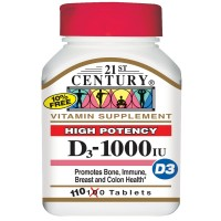Vitamin D3 High Potency 1000 МЕ (110таб)
