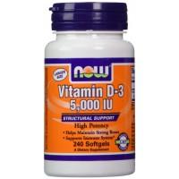 Vitamin D-3 5000 IU (240капс)