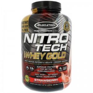 NITRO-TECH 100% Whey Gold (2,51кг)
