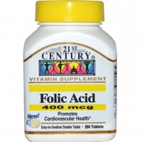 Folic Acid 400 мкг (250таб)